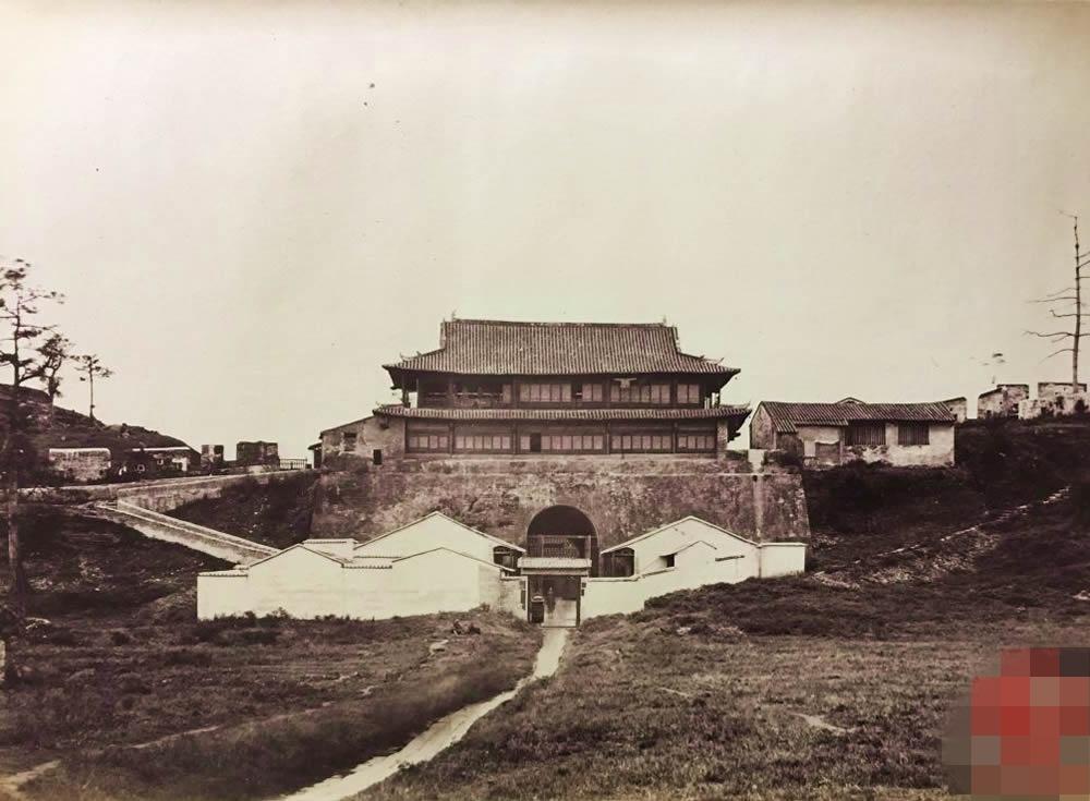 【写真】1873年 写真黎明期の貴重な中国最古級の広州市の風景